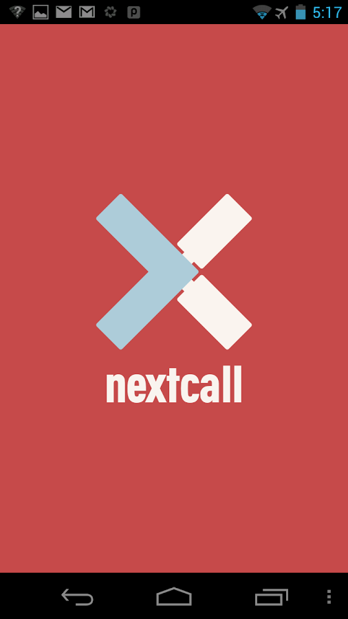 Nextcall - screenshot