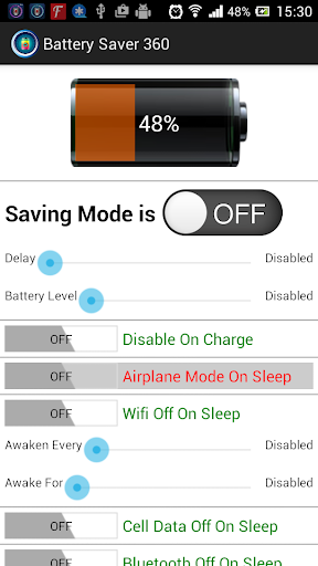 Battery Saver 360° For 2015