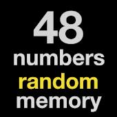 48 numbers random memory