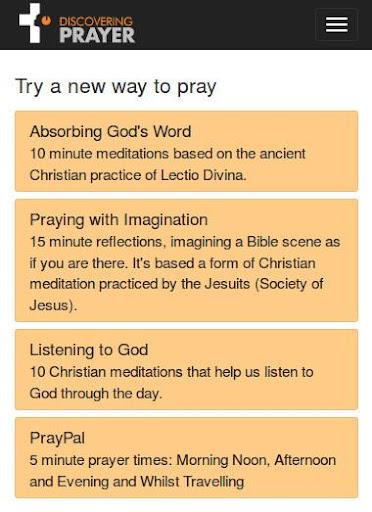 Discovering Prayer