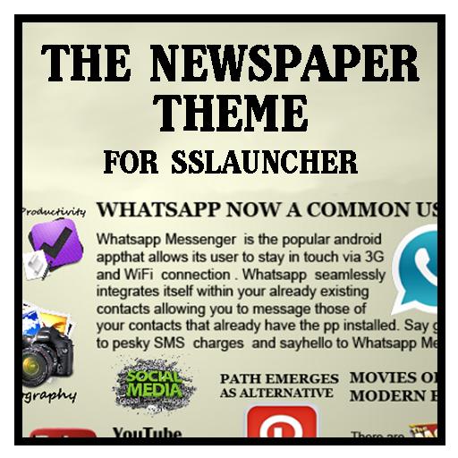 Newspaper 1 Theme ssLauncher 個人化 App LOGO-APP開箱王