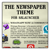 Newspaper 1 Theme ssLauncher