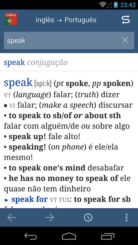 Collins Portuguese Dictionary APK 1 0 Download - Free Books