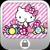 Hello Kitty Candy Screen Lock