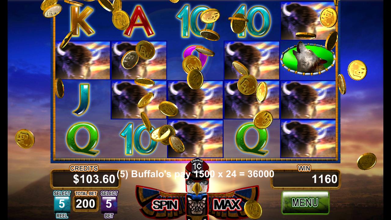 buffalo gold slot