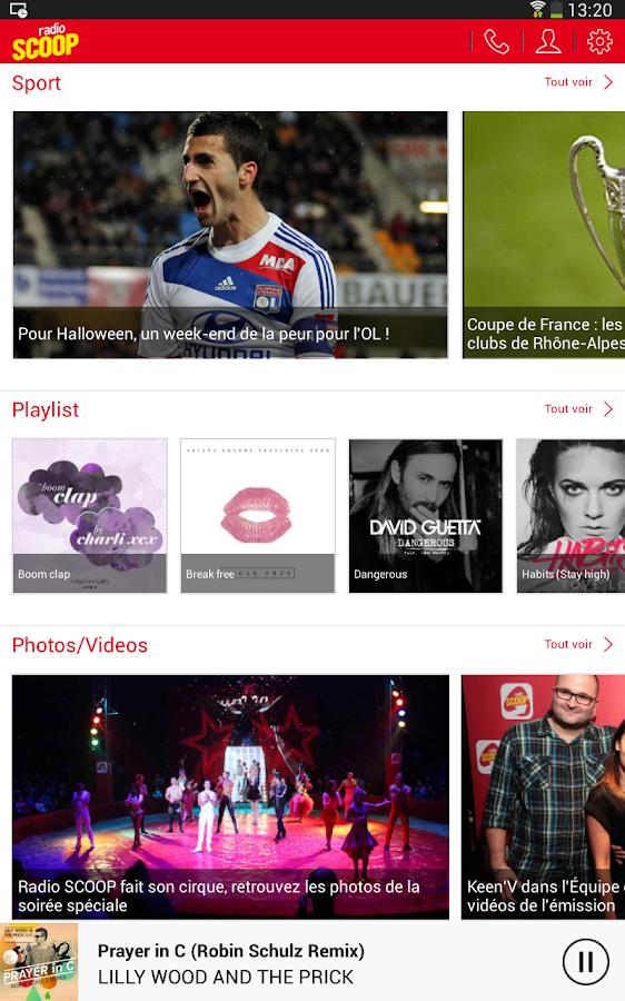 Radio SCOOP - screenshot