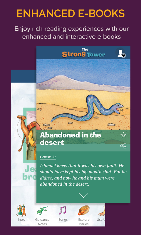 Scripture Union books- screenshot