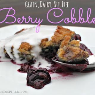 Berry Cobbler (Grain, Dairy, Nut Free).