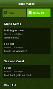 SAS Survival Guide  1.2   screenshot