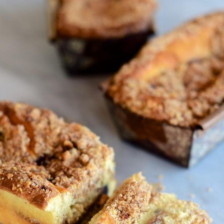 Blueberry-Lemon Coffee Cake Recipe