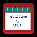 Web2Voice for Alibris icon