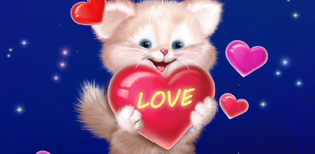 Download Cute Cat Live Wallpaper Latest Version Apkdi Com
