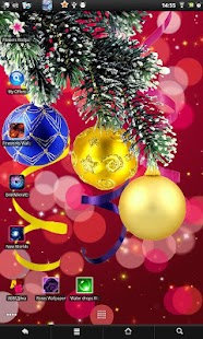 Christmas live wallpaper - screenshot thumbnail