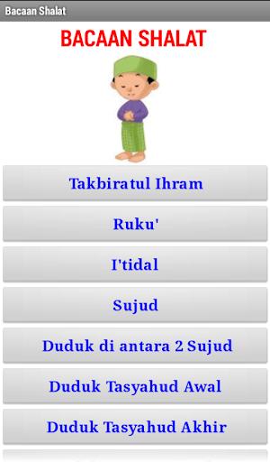 Aplikasi Bacaan Shalat