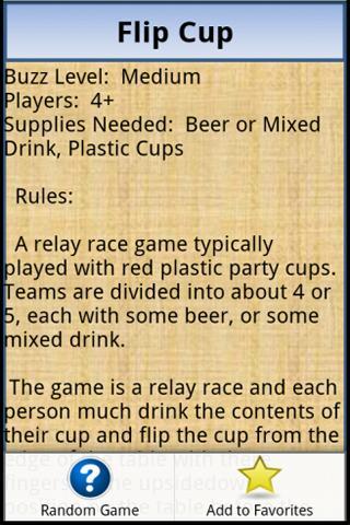 Drinking Games- screenshot