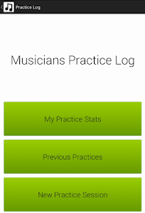 Musicians Practice Log screenshot 4
