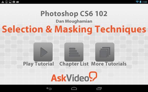 Photoshop CS6 Masking Images