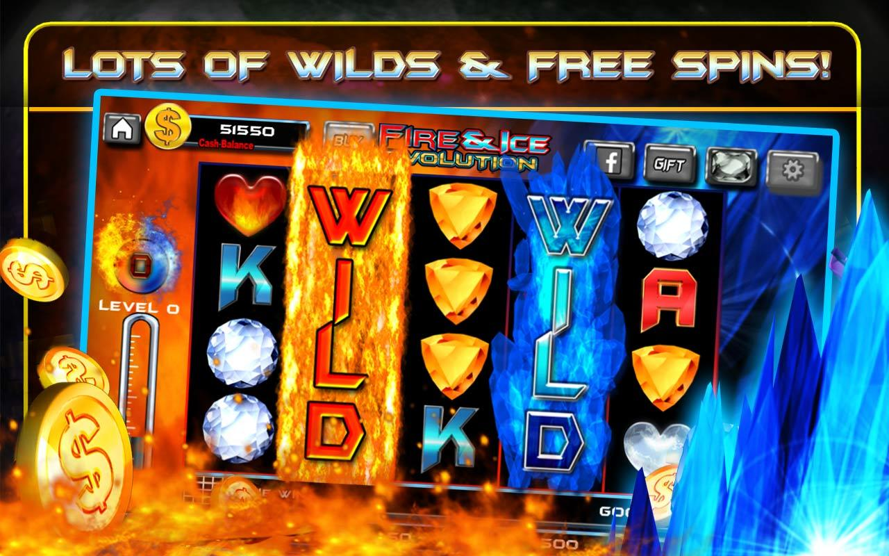 Ice and flame slots