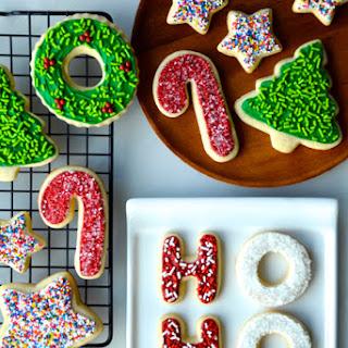 The Best Cutout Sugar Cookies.