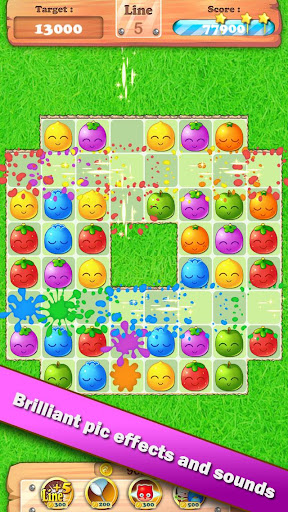 Fruit Blast Heroes - link game