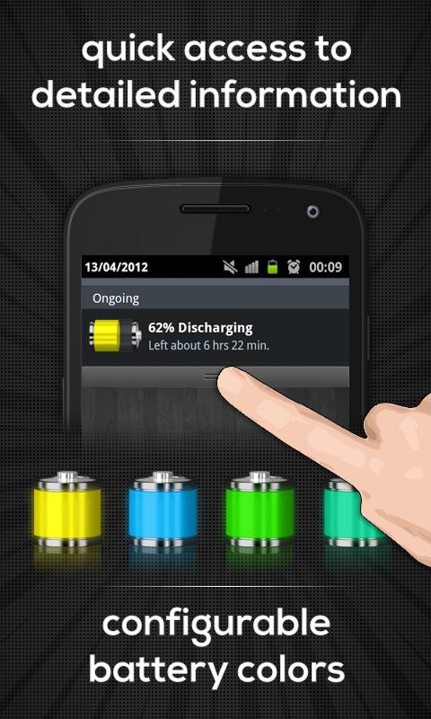Battery Indicator Pro- screenshot