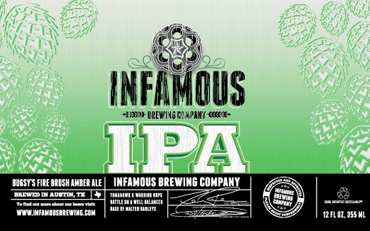 Logo of Infamous IPA