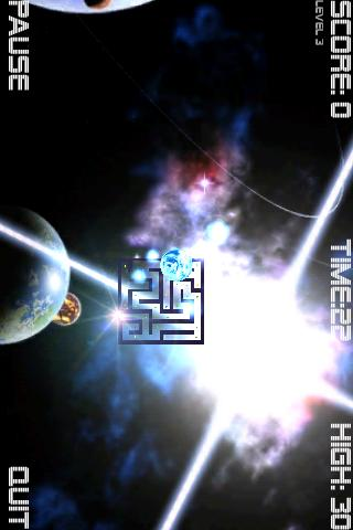 Cosmic Roller Lite - screenshot