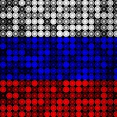 LED Russia Flag Live Wallpaper