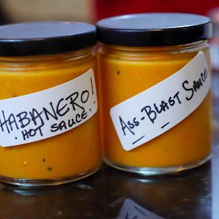 Kick Ass Habanero Hot Sauce.