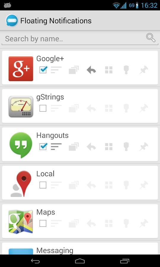 Floating Notifications (Trial) - screenshot