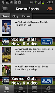 Minnesota Gopher Sports - screenshot thumbnail