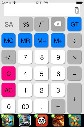 Calculator Rate Pro