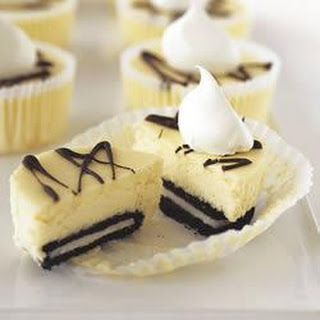 OREO Mini PHILLY Cheesecakes.