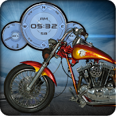 Custom Motorcycle Compass LWP