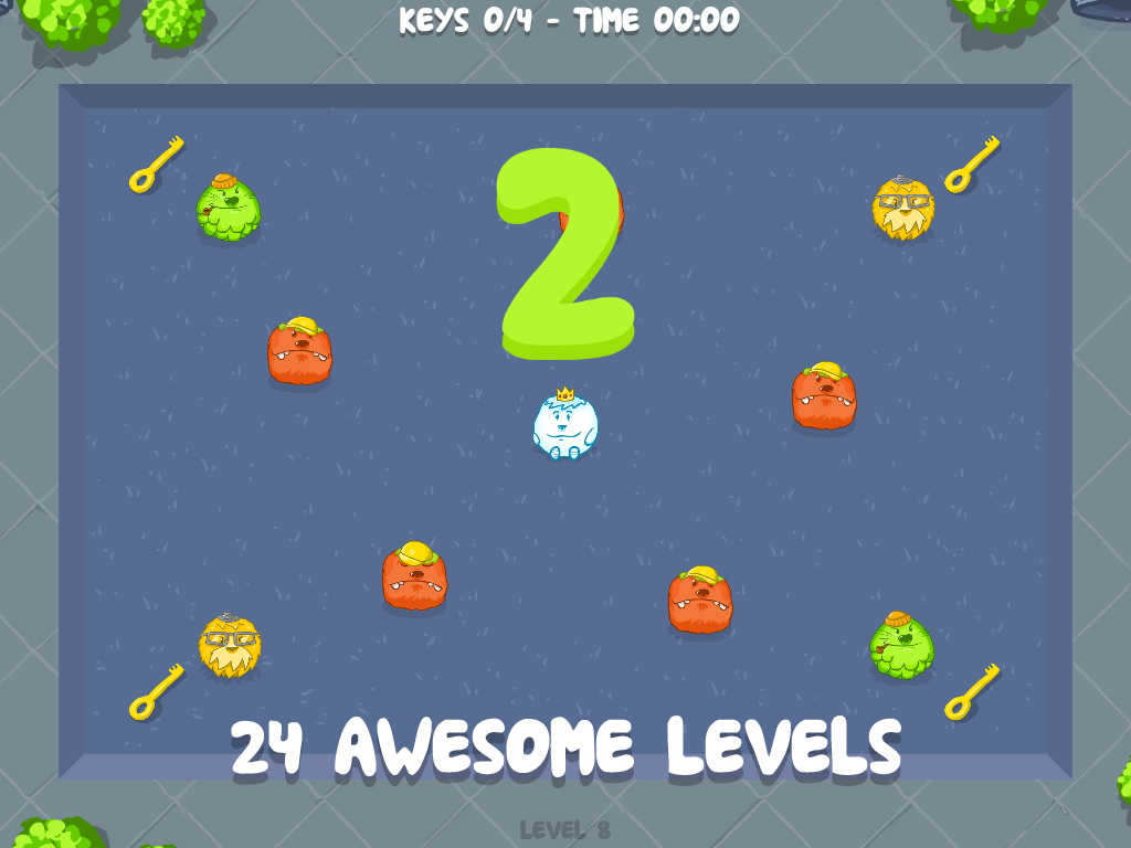 Escape from Balls- screenshot