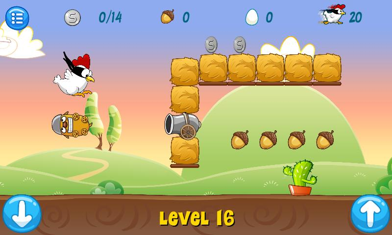 Ninja Chicken- screenshot