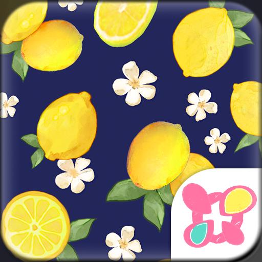 Summer Theme-Citrus Navy- Icon