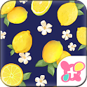 Cute Theme-Citrus Navy- icon