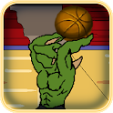 Basketball Hoop Monster Hugo icon