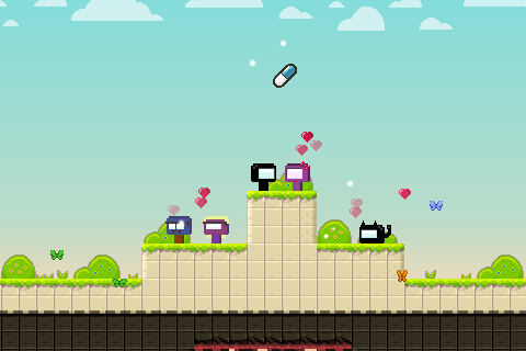 Mercurial Story Platform Game- screenshot