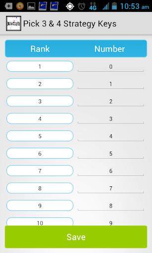 Pick 3 4 Strategy Keys