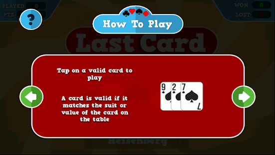 Last Card- screenshot thumbnail