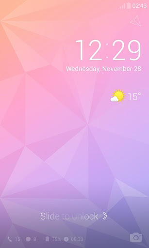 Pastel Color Dodol Theme