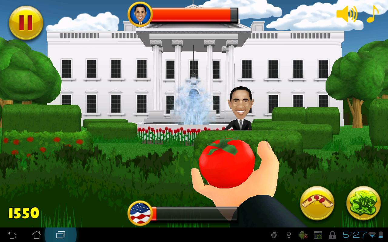 MAD HUMANS ELECTION 2012 - screenshot