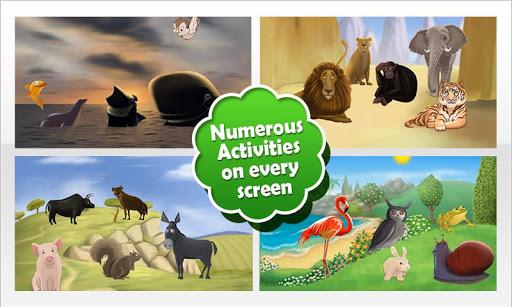 玩免費教育APP|下載Animal Zoo Puzzles app不用錢|硬是要APP