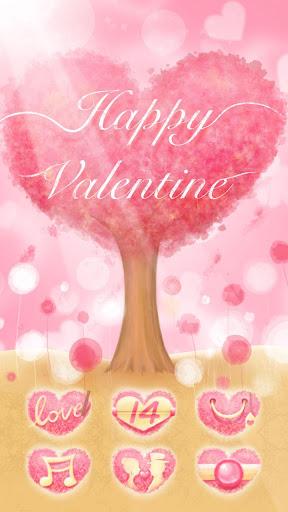 Happy Valentine GO Theme