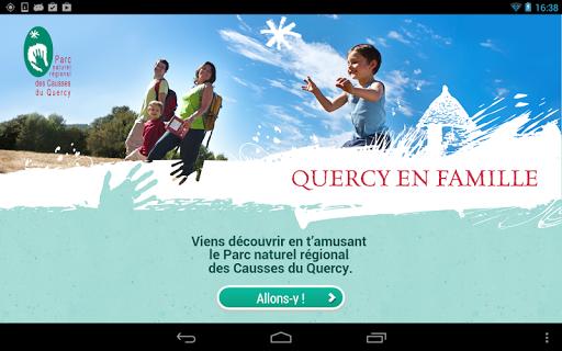Quercy en Famille - Tablette