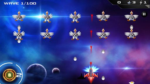 Chicken Space War Full