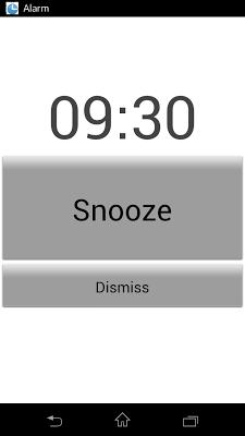 Simple Alarm - screenshot