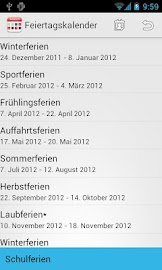 Holidaycalendar.ch Screenshot 2